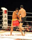 Arthit Hanchana (SIAMESISCH) gegen Wu Hao Tian (CHN) stockfotografie