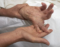 Arthritic Hand Royalty Free Stock Image