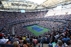Arthur Ashe Stadium at Billie Jean King National Tennis Center during US Open 2017 day session Royalty Free Stock Image