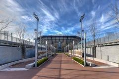 Arthur Ashe Stadium - errötend, New York lizenzfreies stockfoto