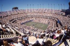 Arthur Ashe Stadium. Flushing, NY. Image taken from color slide stock image