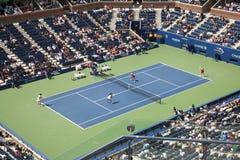 Arthur Ashe Stadium - het Open Tennis van de V.S. royalty-vrije stock afbeeldingen