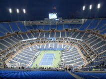 Arthur Ashe Stadium after U.S. Open Final 2014. Stock Photography