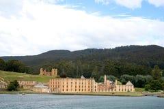 arthur Australien historisk portlokal tasmania Royaltyfria Foton