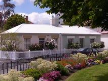 Arthur Circus, punto Hobart, Tasmania della batteria fotografie stock libere da diritti