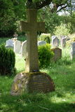 Arthur Conan Doyle  cross grave Stock Photo