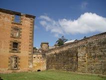 arthur port tasmania arkivbild