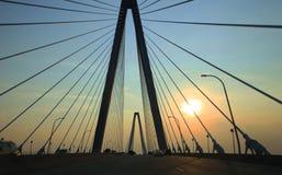 Arthur Ravenel Bridge Lizenzfreie Stockbilder