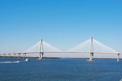 Arthur Ravenel Bridge in Charleston Royalty Free Stock Photo