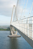 Arthur Ravenel Bridge Stock Image