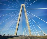 Arthur Ravenel, jr.-Brücke stockfoto