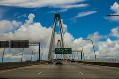 Arthur Ravenel, Jr. Bridge, Charleston, SC. Royalty Free Stock Photos