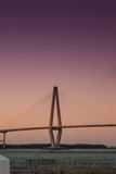 Arthur Ravenel Junior Bridge in Charleston, South Carolina Stock Image