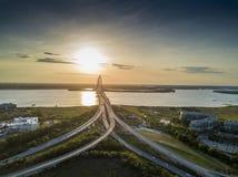 Arthur Revenel Bridge Stockfotos