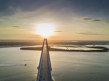 Arthur Revenel Bridge Lizenzfreies Stockfoto