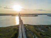 Arthur Revenel Bridge Stockfoto
