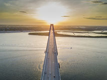 Arthur Revenel Bridge Royalty Free Stock Photo