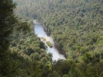 Arthur River, Tasmania stock photography