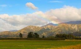Arthur's Pass Mountain Rainbow Stock Photography