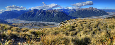 Arthur's Pass National Park Royalty Free Stock Photo