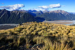 Arthur's Pass National Park Royalty Free Stock Image