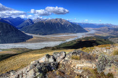 Arthur's Pass National Park Royalty Free Stock Images