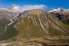 Arthur's Pass in New Zealand Royalty Free Stock Images