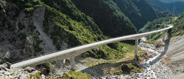 Arthur's Pass Viaduct stock photo