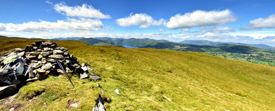 Arthur's Pike summit Royalty Free Stock Images