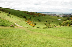Arthur's Seat, Edinburgh Royalty Free Stock Images