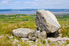 Arthurs stone Gower. Arthurs stone situated on Cefn Bryn on the Gower Peninsula in Wales Stock Photo