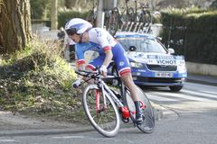 Arthur Vichot cycling racer French Stock Image