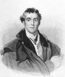 Arthur Wellesley, ?r duc de Wellington Image stock