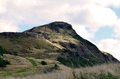 Arthur& x27; s Seat w Edynburg Szkocja Zdjęcie Royalty Free