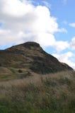 Arthur& x27; s-stol i Edinburg Skottland Royaltyfria Foton