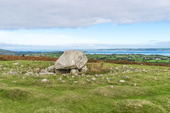 Arthur's Stone Neolithic Tomb, Gower Peninsula, South Wales,UK Stock Photography