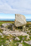 Arthur's Stone Neolithic Tomb, Gower Peninsula, South Wales,UK Stock Photo
