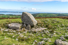 Arthur's Stone Neolithic Tomb, Gower Peninsula, South Wales,UK Stock Photos