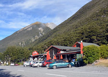 Arthurs Pass Mountain Village, New Zealand Stock Image