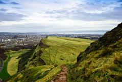 Arthurs seat Royalty Free Stock Photos