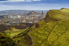 Arthurs seat Stock Photography