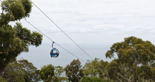 Arthurs Seat Eagle Skylift Stock Photography
