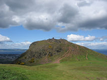 Arthurs Seat, Edinburgh. Summit of Arthurs Seat, Edinburgh Royalty Free Stock Images
