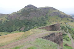 Arthurs seat in Edinburgh Royalty Free Stock Photography