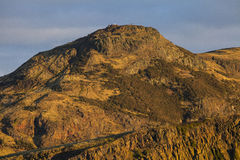 Arthurs Seat in Edinburgh Stock Photography