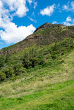 Arthurs seat in Edinburgh Royalty Free Stock Photos