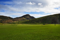 Arthurs seat Edinburgh Royalty Free Stock Photo