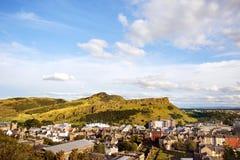 Arthurs Seat i Edinburg, Skottland Royaltyfri Foto