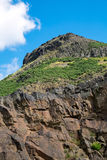 Arthurs seat near Edinburgh Royalty Free Stock Image