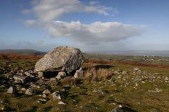 Arthurs Stein auf der Gower-Halbinsel stockfoto